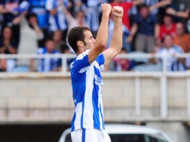 Agirretxe brace sinks new boys Celta Vigo