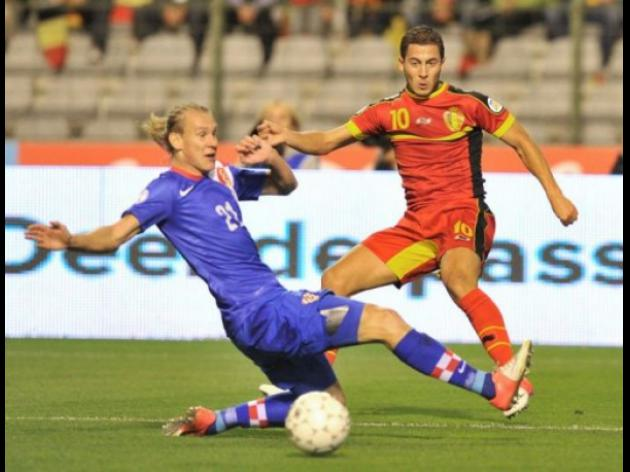 Belgium battle back to draw with Croatia