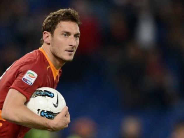 Totti boost for Roma ahead of Bologna