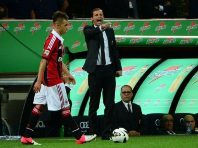 Allegri under pressure as Milan flop again