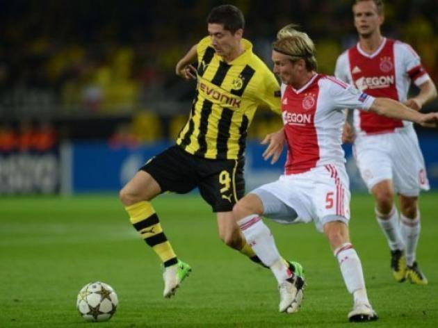 Late Lewandowski strike helps Borussia beat Ajax