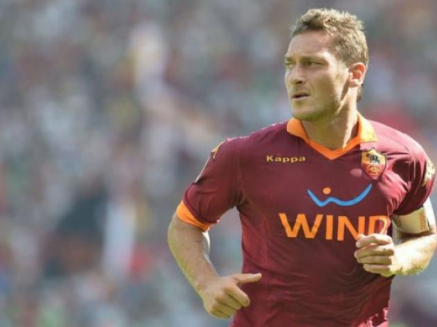 Totti set to miss Romas empty stadium game