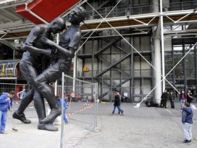 France immortalises Zidane headbutt with statue