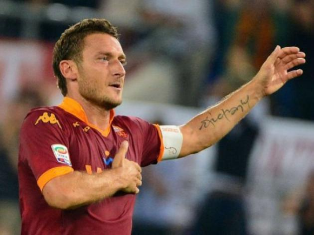 Totti becomes Serie As third top all-time scorer