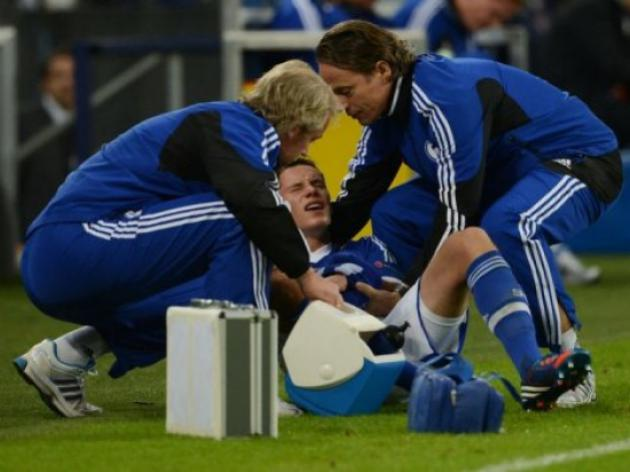 Arm break rules out Schalke star for four weeks