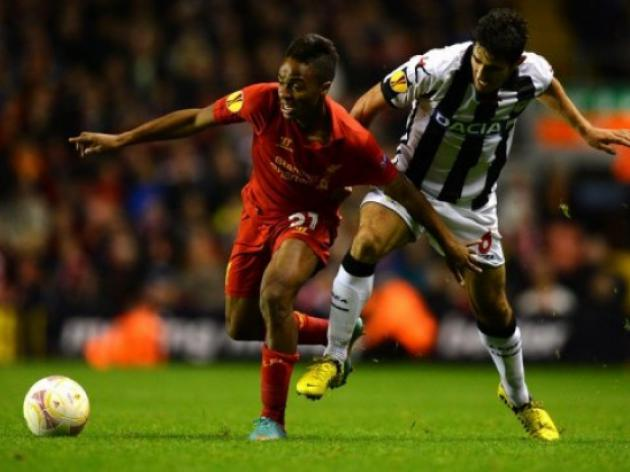 More misery for Rodgers as Udinese shock Liverpool
