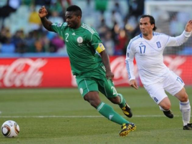 Yobo doubtful for Nigerias Liberia showdown