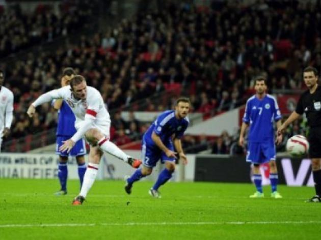 Rooney double helps England down San Marino
