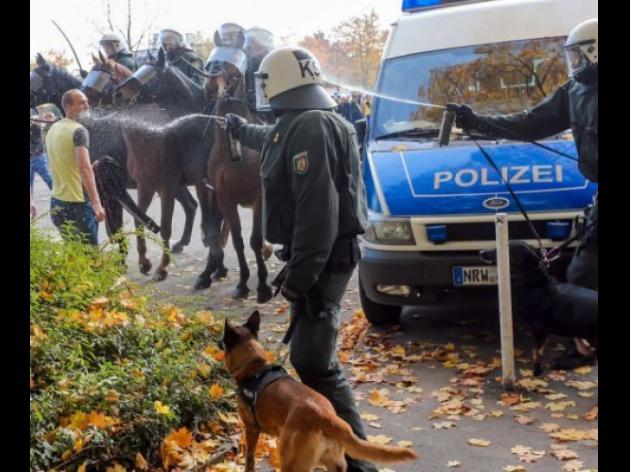 Football violence worst in years, say German police