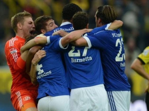 Schalke enjoy Ruhr derby win as Arsenal looms