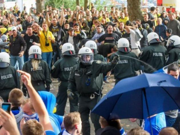Action urged after German football riots