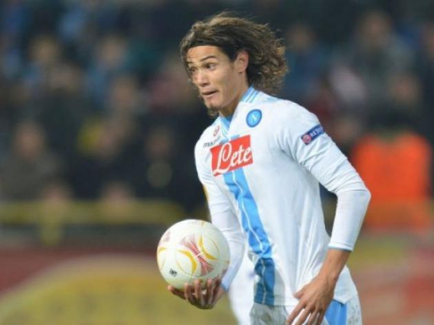 Cavani doubt for Napoli