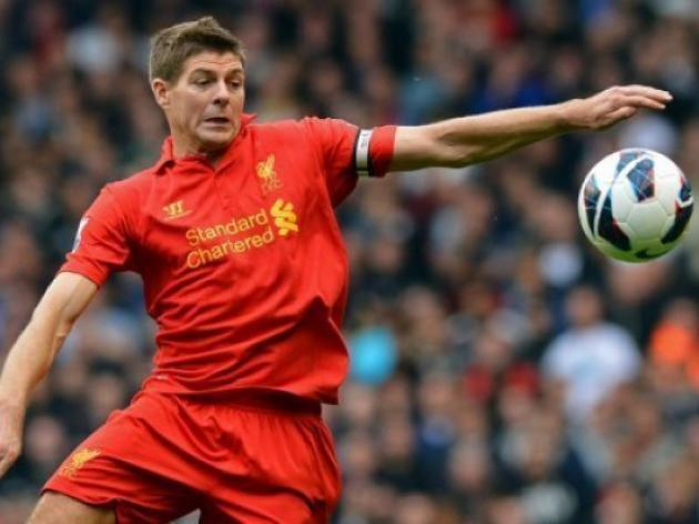 Liverpool's Gerrard apologises for Everton jibes
