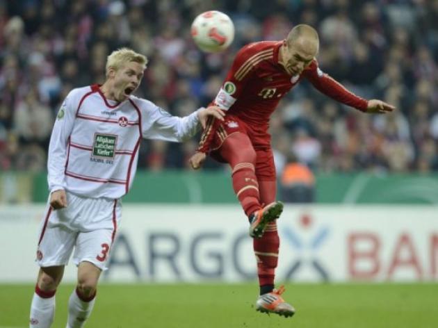 Robben, Pizarro fire Bayern into Cups third round