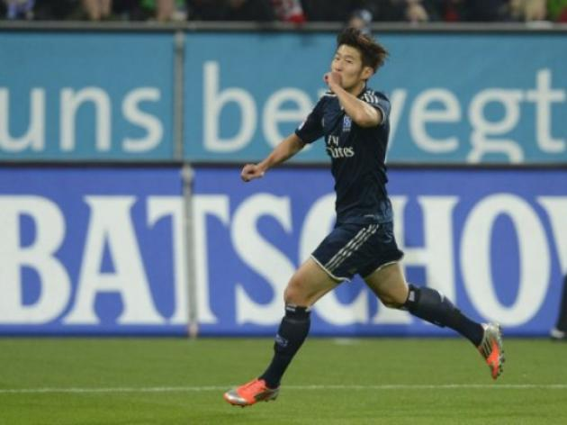 Hamburg boss Fink eager to keep hot-shot Son