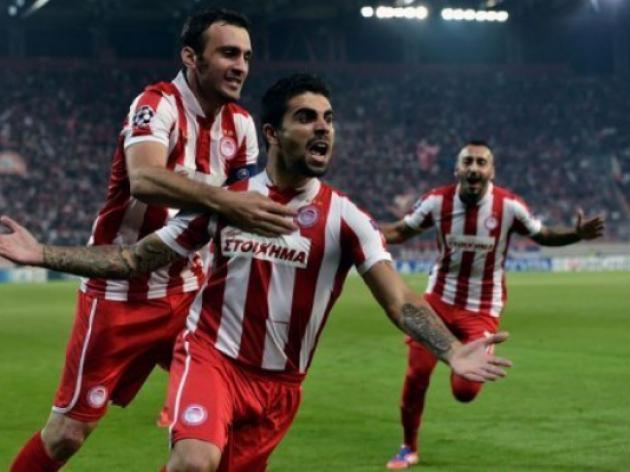 Olympiakos keep knockout hopes alive