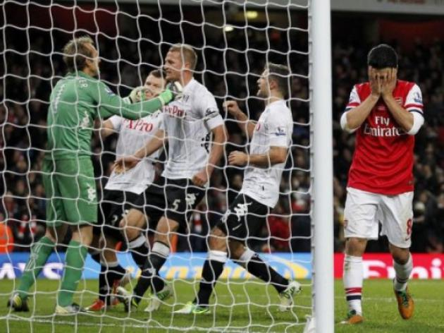 Arteta fluffs his lines as Fulham thwart Arsenal
