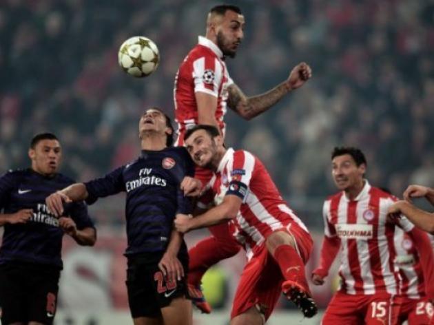 Greek tragedy for Arsenal as Gunners crash again