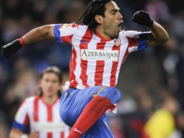 Radamel Falcao scores five as Atletico thrash Deportivo 6-0