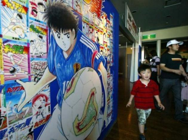 Chelsea striker Fernando Torres inspired by Japanese cartoon
