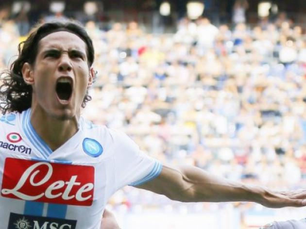 Napoli turn down 55 million-euro Cavani bid