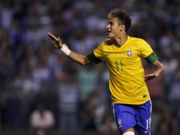Neymar staying put in Brazil until 2014 - father
