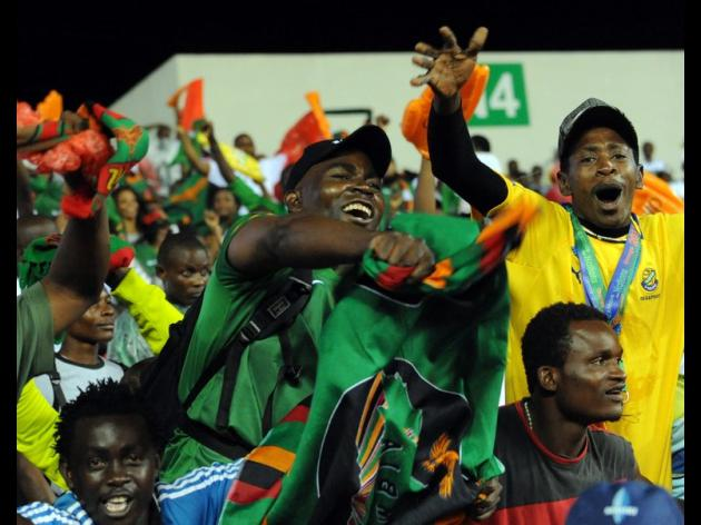 Another loss for African champions Zambia