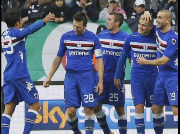 Sampdoria stun Juventus with shock in in Serie A