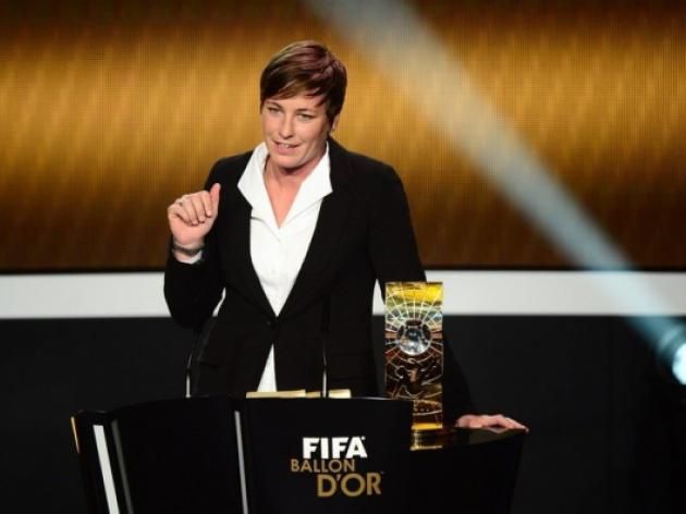 US star Wambach wins Womens World Player of the Year