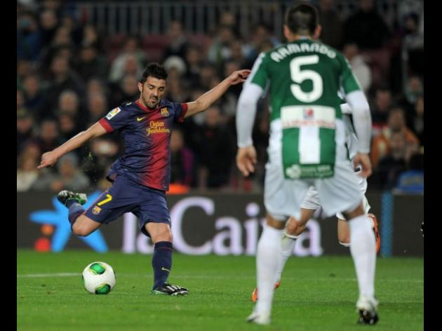 No Messi, no problem as Barcelona thrash Cordoba