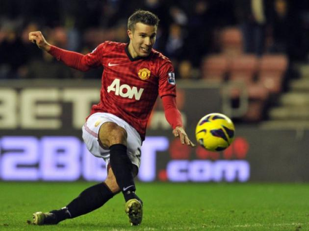 Ferguson praises van Persie ahead of Liverpool clash