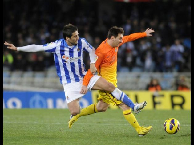 Barcelona suffer first Liga defeat of season to Real Sociedad