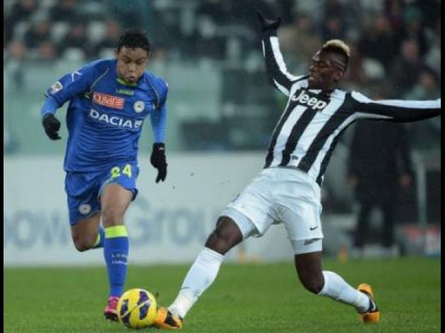 Pogba fires brace as Juventus smash Udinese