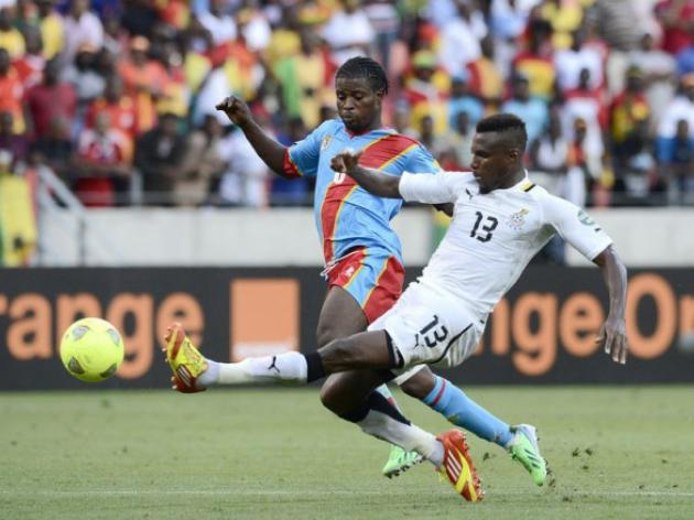 DR Congo storm back to hold Ghana