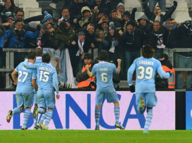 Lazio hold Juve in Cup semi-final
