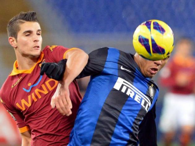 AS Roma down Inter Milan in Coppa Italia first leg