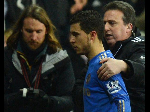 Players back Eden Hazard over ball boy scuffle