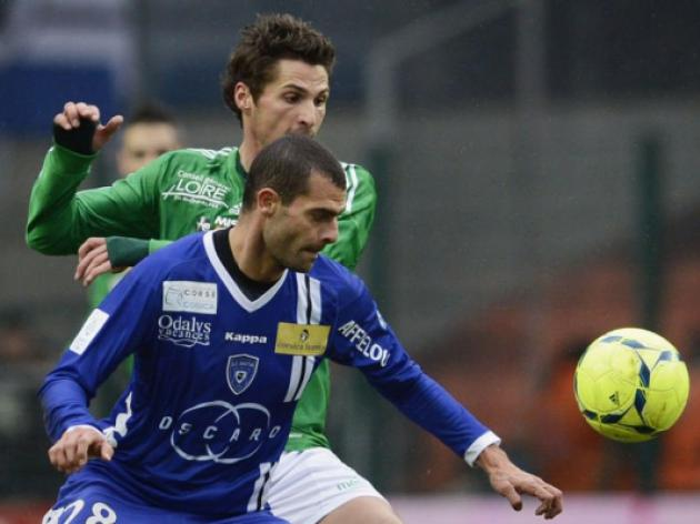Saint Etienne up to sixth with win over Bastia