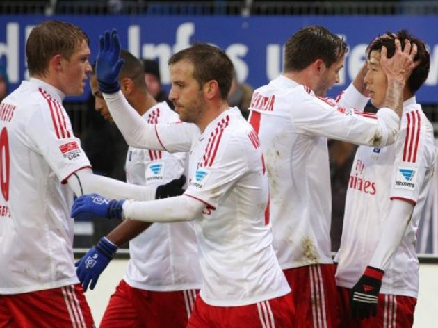 Hamburg escape bottom three with Nuremberg win