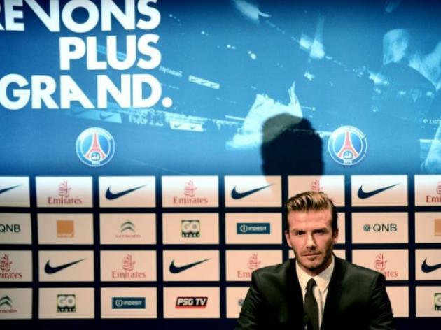 David Beckham - boots and a brand
