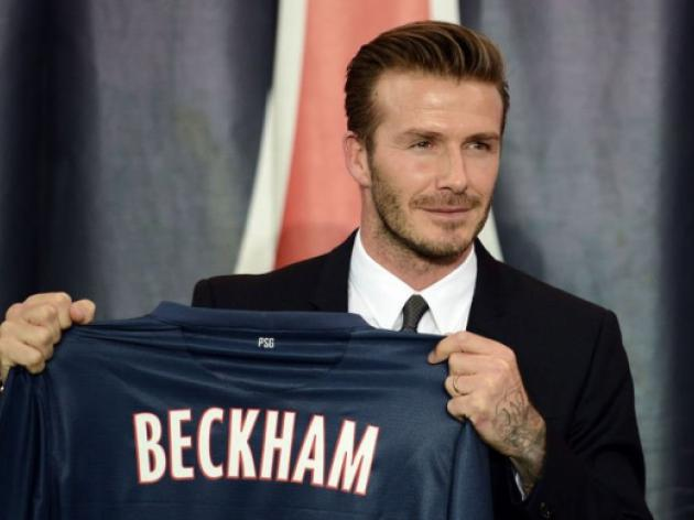 Hodgson plays down England return for Beckham