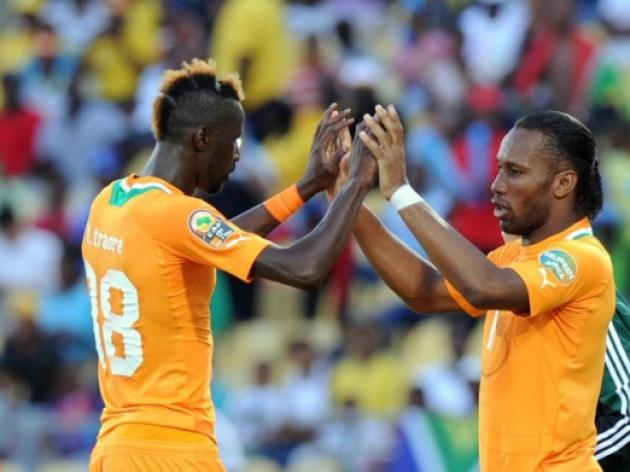 Drogba starts for Ivory Coast against Nigeria