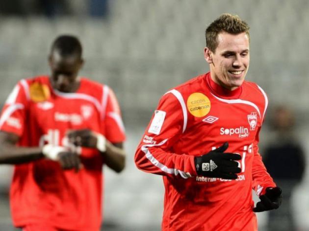 Nancy stun Marseille as Barton sees red