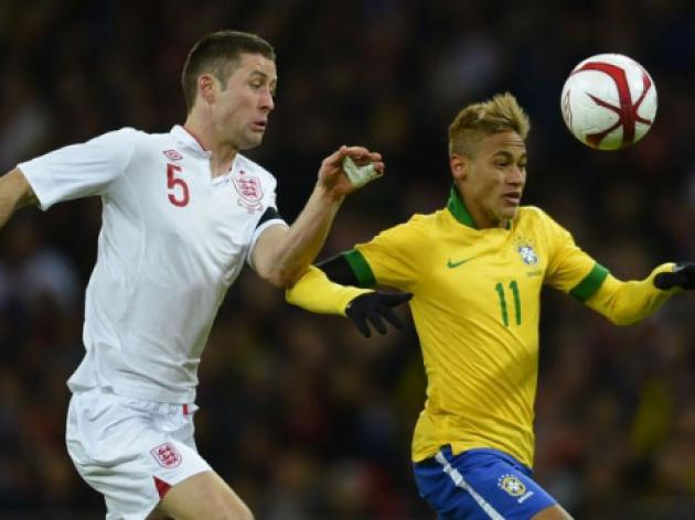 Slick England spoil Scolaris Brazil return