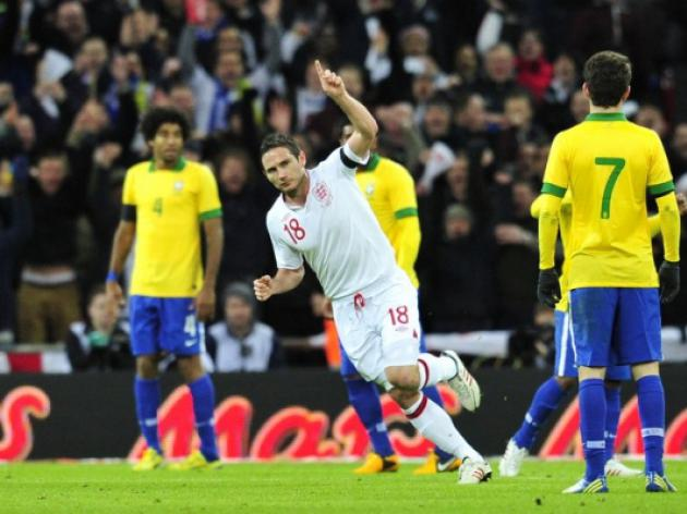 Frank Lampard says, 'England can beat worlds best'