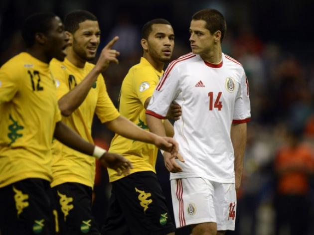 Jamaica hold Mexico, Honduras beat USA