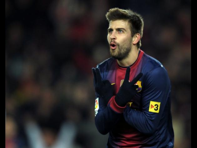 Pique aiming for another Barca treble