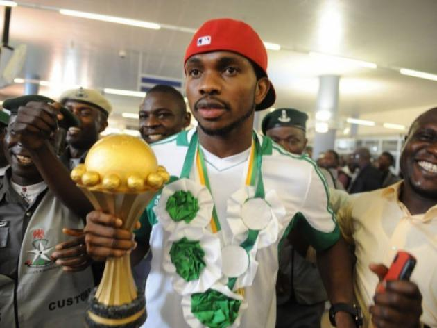 Triumphant Nigeria arrive home to heroes welcome