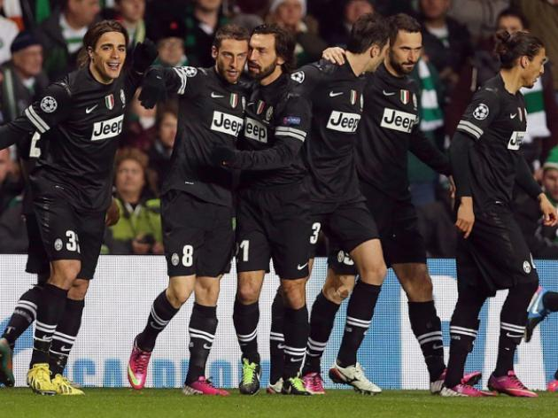 Clinical Juventus leave Celtic in their wake
