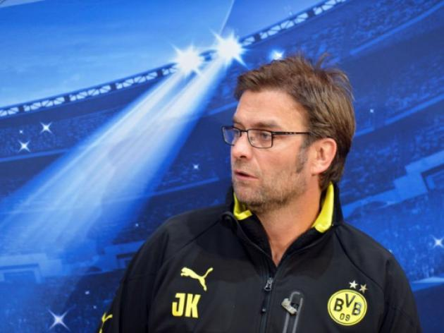 Jurgen Klopp determined Dortmund will fire against Shakhtar